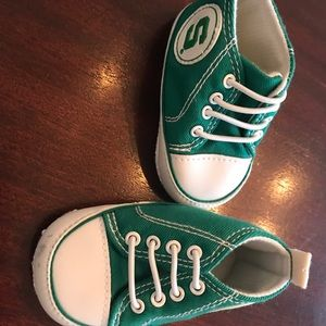 Other - Michigan state crib shoes